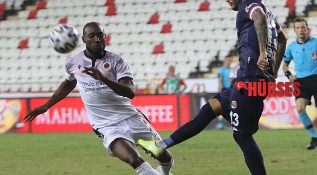 Süper Lig: Fraport TAV Antalyaspor: 2 - Gençlerbirliği: 0