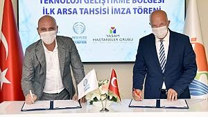 Antalya OSB Teknopark, ilk firma kabulünü gerçekleştirdi