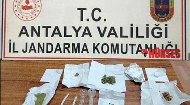 Finike'de uyuşturucu operasyonu