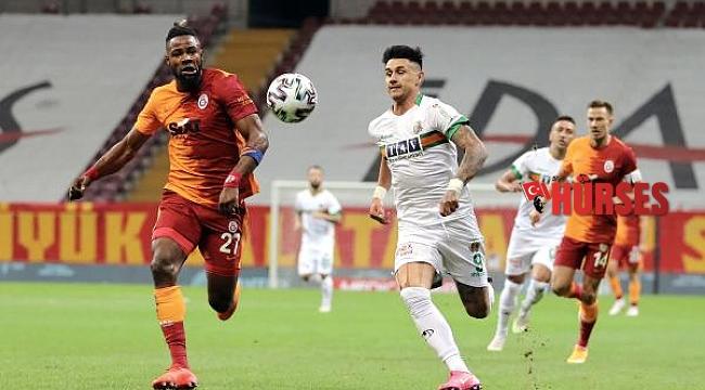 Galatasaray - Aytemiz Alanyaspor: 1-2