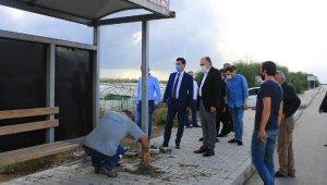Gülseren'in ölümüne neden olan durağın ayaklarına beton döküldü