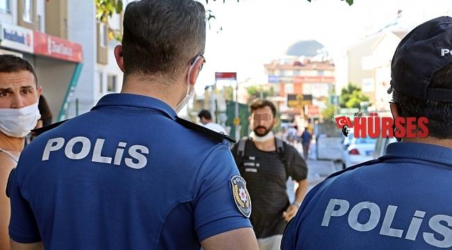 Koronadan değil polisten korktular