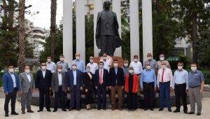 Kumluca'da Muhtarlar Günü töreni