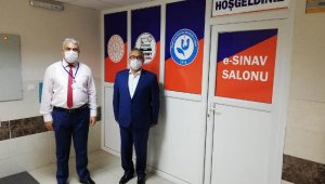 Kumluca'ya e-sınav merkezi açıldı