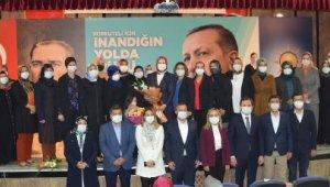 AK Parti Korkuteli Kadın Kolları'nda seçim