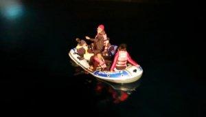 Bodrum'da 11 düzensiz göçmen kurtarıldı