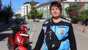 Motosikletli kuryeye talep artınca, kadınlar sahaya indi