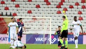 Süper Lig: Fraport TAV Antalyaspor: 0 - Aytemiz Alanyaspor: 2