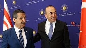 Çavuşoğlu'dan Tahsin Ertuğruloğlu'na tebrik