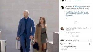 Jason Statham'dan, 'Türkiye'de ikinci hafta' paylaşımı