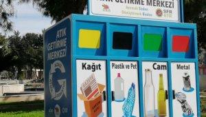 Kemer'e mobil atık getirme merkezi
