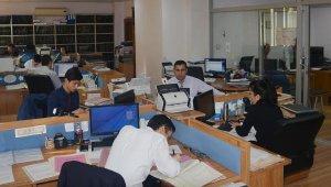 Korkuteli Tapu'da 36 bin işlem yapıldı