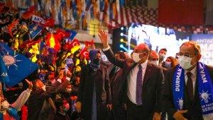 AK Parti Antalya'da kongre coşkusu