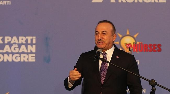 """Bakan Çavuşoğlu: """"Türkiye de kendi raporlarını dünya insanlığı için yazmaya devam edecek"""""""