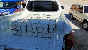Baz istasyonlarına dadanan 3 şüpheli yakalandı