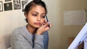 Kanseri yenen Havva Nur'un hedefi, makyaj sanatçısı olmak