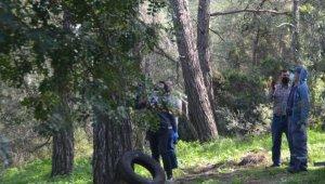 Kendisini ağaca iple astı, son anda kurtarıldı