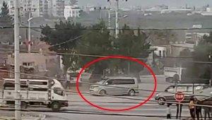 Panelvan minibüsle caddede drift yaptı