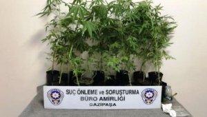 Gazipaşa'da uyuşturucu operasyonu