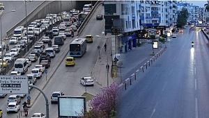 Kısıtlama yaklaşınca sokaklar boş kaldı!