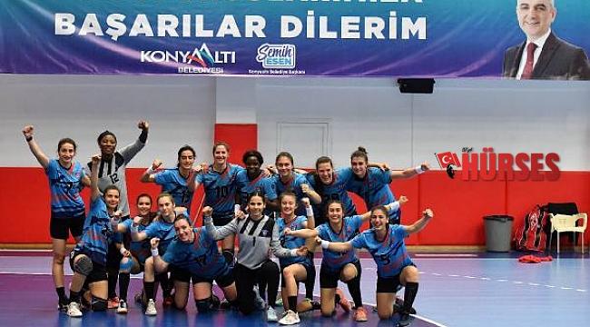 Mavi Kelebekler Türkiye Kupası yarı finalinde