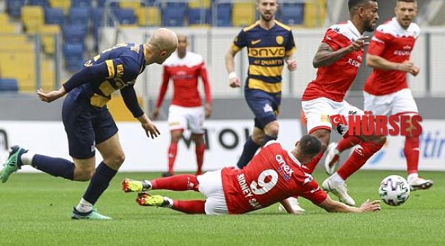 MKE Ankaragücü - Fraport TAV Antalyaspor: 1-0