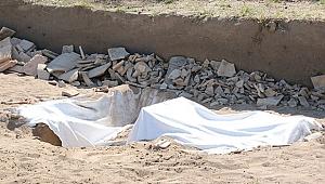 Otellerin ortasında heycanlandıran kazı