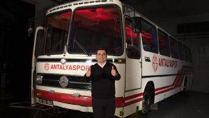 Tütüncü'den, Antalyaspor'a destek