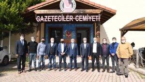 """Vali Yazıcı: """" Gazeteciler Antalya'nın tanıtılmasında büyük rol oynuyor"""""""