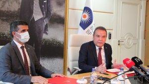 Antalya Büyükşehir'den işçilerine 3 bin 150 lira promosyon