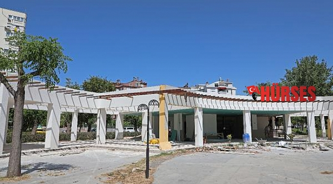 Büyükşehir'den Düden Park'a Emekli Kahvesi