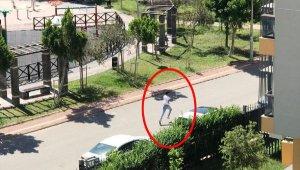 Çağrı merkezi işletmecisine silahlı saldırı sonrası kaçış kamerada
