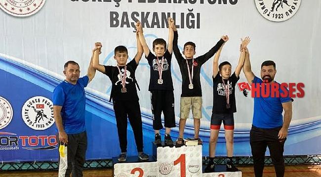 Korkuteli takımı Türkiye ikincisi