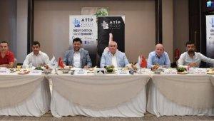 ATSO Başkanı Çetin, ATİP'in konuğu