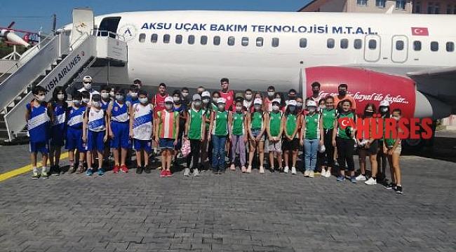 Kepez'in çocukları geziyor