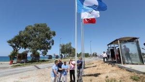 Kızılot halk plajı mavi bayrak aldı
