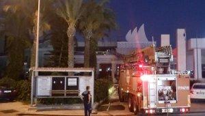 Manavgat'ta 5 yıldızlı otelde yangın
