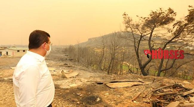 Tütüncü: Manavgat'ın yaralarını birlikte saracağız