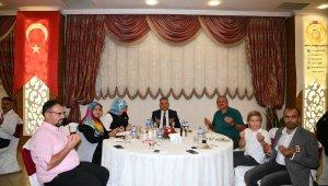 Vali Yazıcı'dan Şehit Aileleri ve Gaziler onuruna yemek