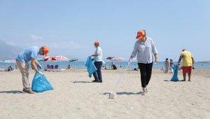 Deniz Çöpleri İzleme Programı Alanya'da uygulandı