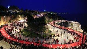 Zafer Bayramı'na coşkulu kutlama