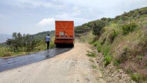 Alanya'da asfalt seferberliği sürüyor