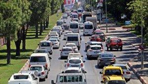 Antalya araç sayısında 4'üncü