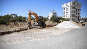 Antalya'nın 5 merkez ilçesine 20 km kanalizasyon şebeke hattı yapılacak
