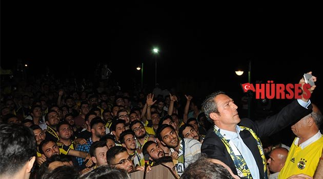 Ali Koç, Antalya'da taraftarla buluştu