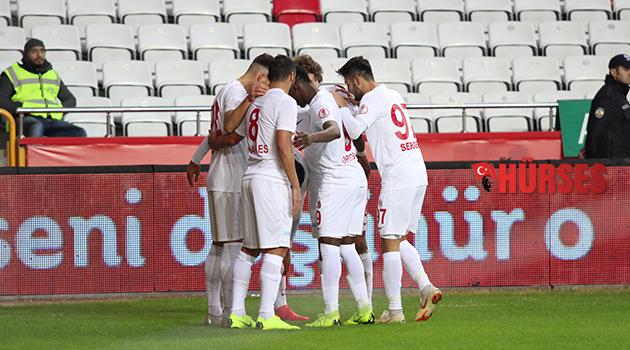 Antalya'da gol düellosu