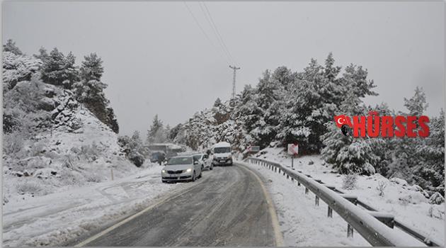 Antalya Konya yolu yine kapandı