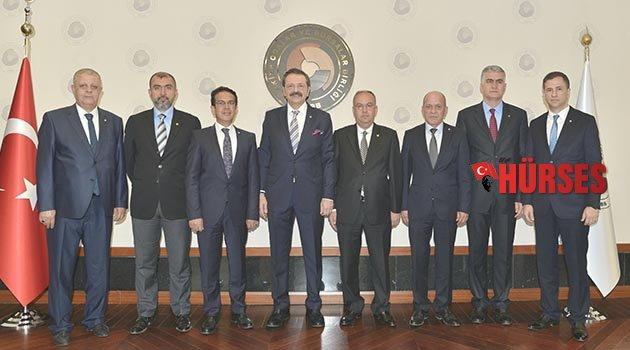 ATB Heyeti Ankara'da