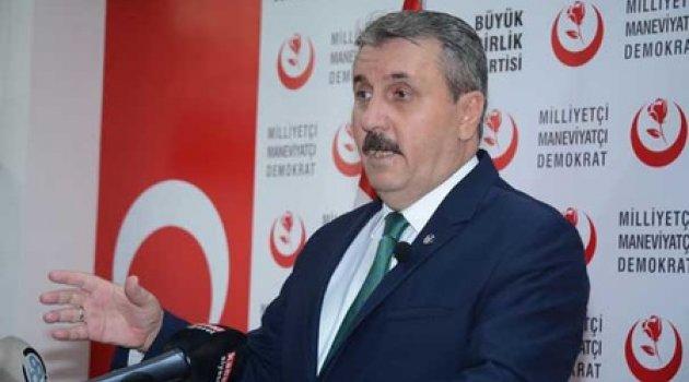 BBP Başkanı Destici: Darbe kimden gelirse gelsin hepsine karşıyız