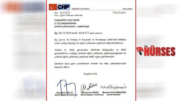 CHP'de eğilim şoku